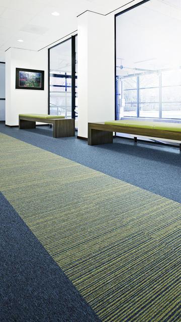 Striped Carpet Tiles Commercial Contract Heavy Duty Loop Pile Stripe Floor Tile